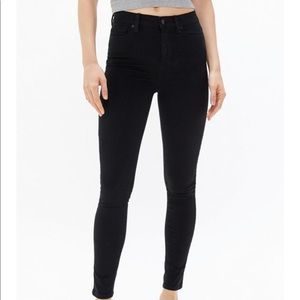 BDG Twig high rise skinny jean black